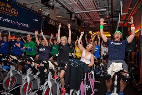 Registration is now open for Memorial Sloan-Kettering Cancer Center's Cycle for Survival 2013 events.(PRNewsFoto/Memorial Sloan-Kettering Cancer Center)