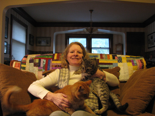 Grand Prize Winner of National Contest Helps Dispel Myths About Multiple Cat Homes