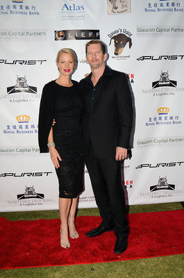 Director, actress and Eastwood Ranch Foundation founder Alison Eastwood and her husband Stacy Poitras at the Inaugural All About The Animals (501c3) Homeless To Haute Gala and Fashion Show on September 18, 2016