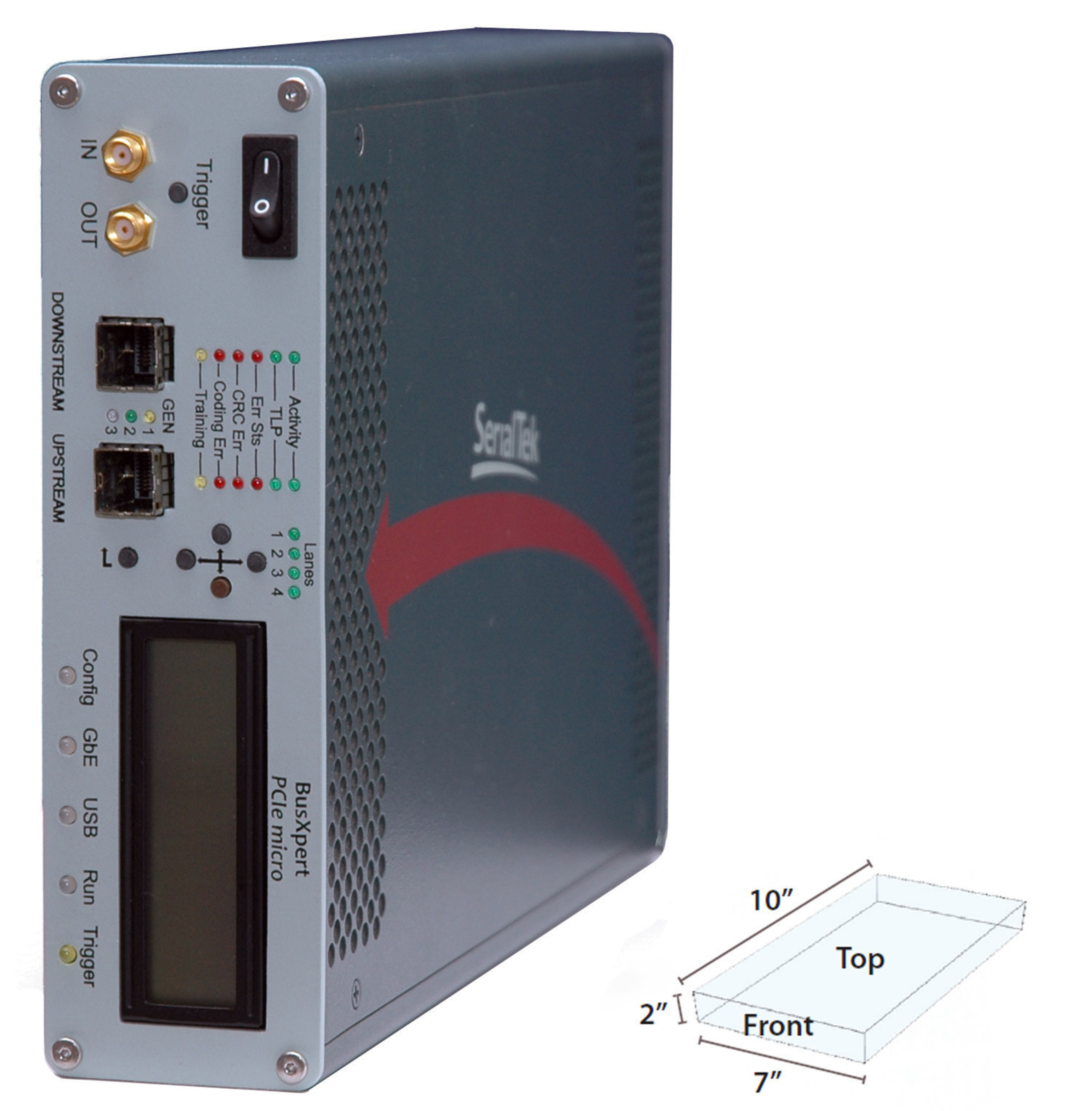 SerialTek's Gen 3 BusXpert Micro PCI Express Analyzer