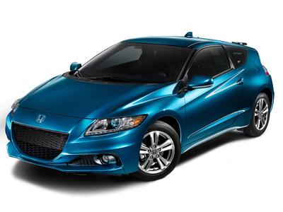 El Cupé Deportivo Híbrido Honda CR-Z del 2013 Recibe Mejoras de Performance, Estilo Fresco y Muchas Prestaciones Mejoradas