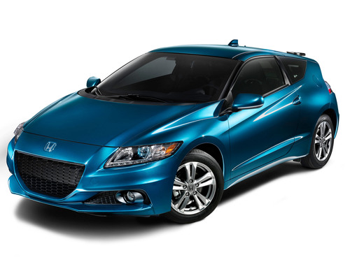 2013 Honda CR-Z Sport Hybrid Coupe Gets Performance Enhancements, Fresh Styling and Host of Feature