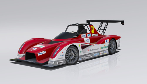 Mitsubishi Motors to Enter a Pair of All-New MiEV Evolution II All-Electric Racecars in 2013 Pikes