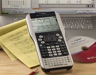 Parents Find Back-to-School Value in TI-Nspire with Touchpad Graphing Calculator.  (PRNewsFoto/Texas Instruments)