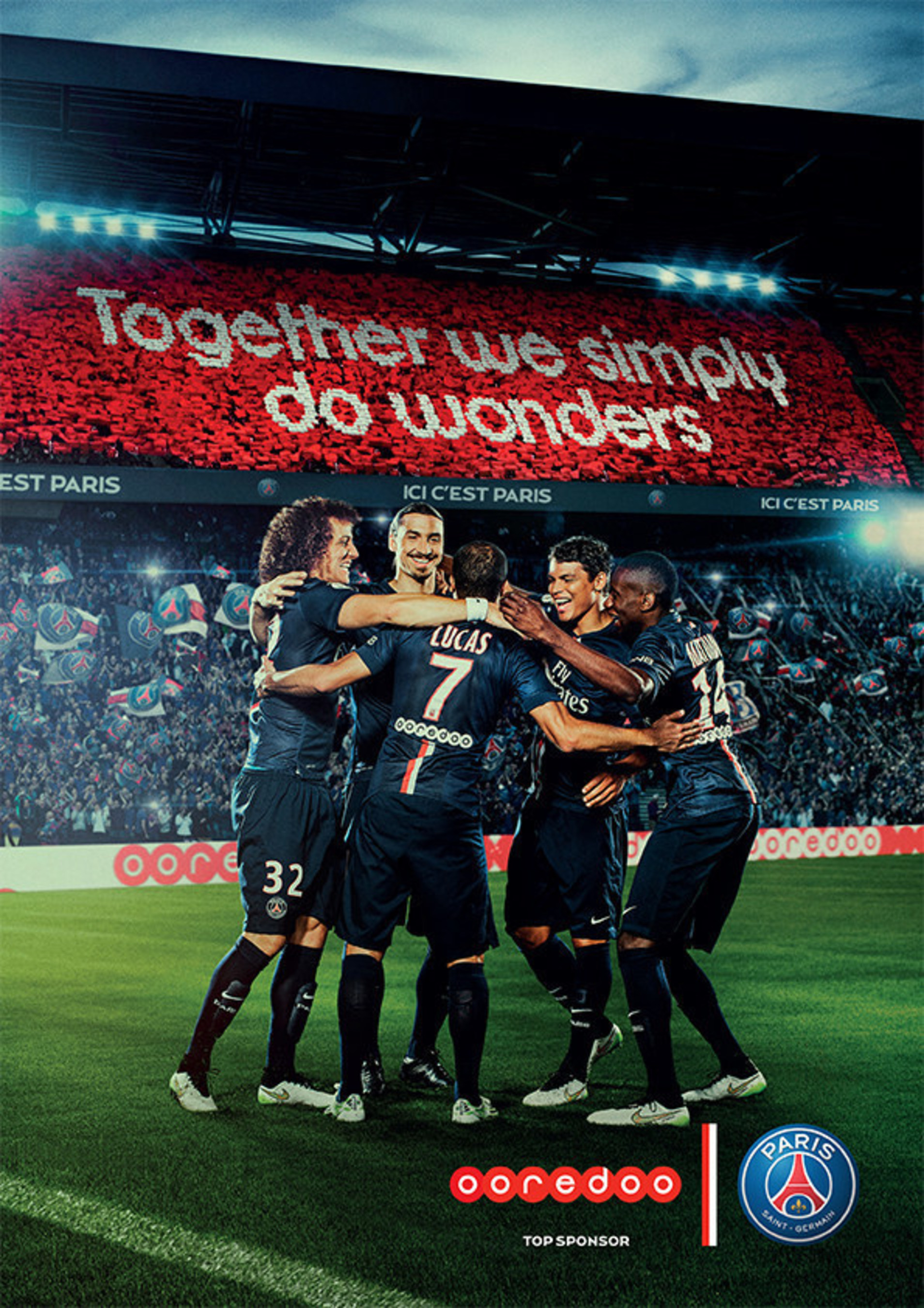 Ooredoo Launches 'Fans Do Wonders' Global Campaign with Paris Saint-Germain