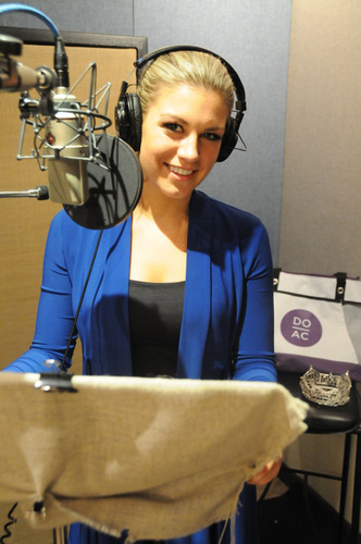 Yesterday in New York, Miss America 2013 Mallory Hagan recorded a radio spot for the Atlantic City Alliance ...