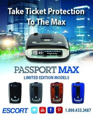 ESCORT displays Passport Max all-digital detector at Seattle Engadget Show (PRNewsFoto/ESCORT Inc.)