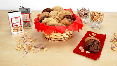 Cookies by Design has gone nuts for Father's Day with its latest product, a combination of delectable gourmet cookies and salty premium nuts. (PRNewsFoto/Cookies by Design)