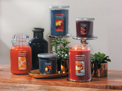 Yankee Candle's five new fall fragrances evoke the rich aromas and hues of the season.