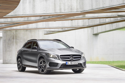 Mercedes-Benz announces pricing on highly anticipated 2015 GLA SUV with a starting MSRP of $31,300. (PRNewsFoto/Mercedes-Benz USA)