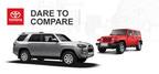 Top off-road SUVs square off in online comparison (PRNewsFoto/Allan Nott Honda Toyota)