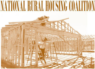 New National Rural Housing Coalition Report Shows How Federal Programs Help Low-Income Rural Families Become Homeowners. (PRNewsFoto/National Rural Housing Coalition) (PRNewsFoto/NATIONAL RURAL HOUSING COALITION)