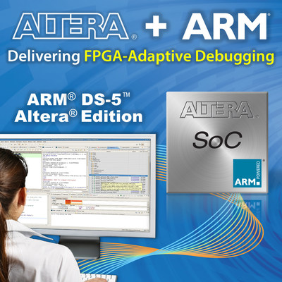 Altera and ARM expand strategic partnership for SoC development tools (PRNewsFoto/Altera Corporation)