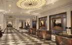 InterContinental New York Barclay Lobby Rendering. Photo courtesy of HOK (formerly BBGM) (PRNewsFoto/IHG (InterContinental Hotels Gro)