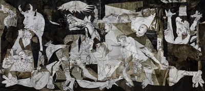 Liu Bolin, Guernica, 2016