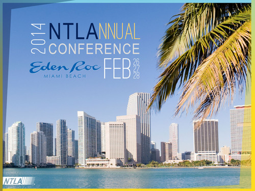 2014 NTLA Annual Conference. (PRNewsFoto/The National Tax Lien Association) (PRNewsFoto/THE NATIONAL TAX LIEN ASSOC...)