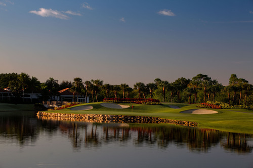 BallenIsles Country Club's famed North Golf Course newly redesigned.  (PRNewsFoto/BallenIsles Country Club)