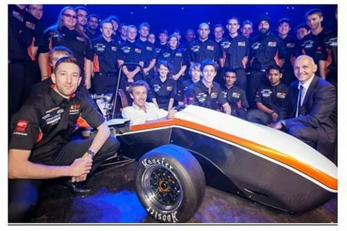 RS Components Helps Drive Formula Students