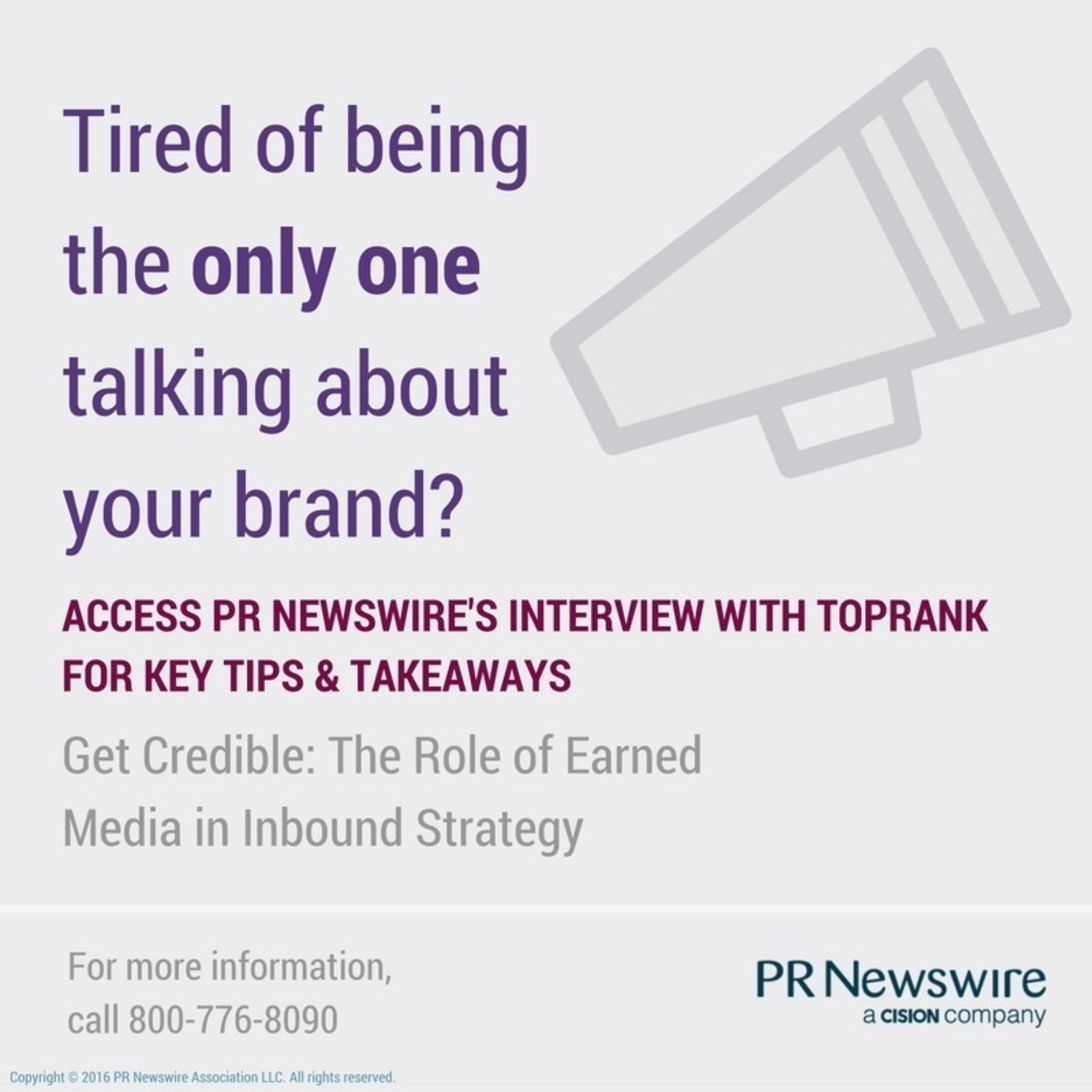 How to Increase Inbound Traffic Through Earned Media http://prn.to/2bRAfwN