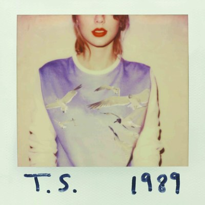 Taylor Swift's 1989 album cover. (Big Machine Records) (PRNewsFoto/Big Machine Records)