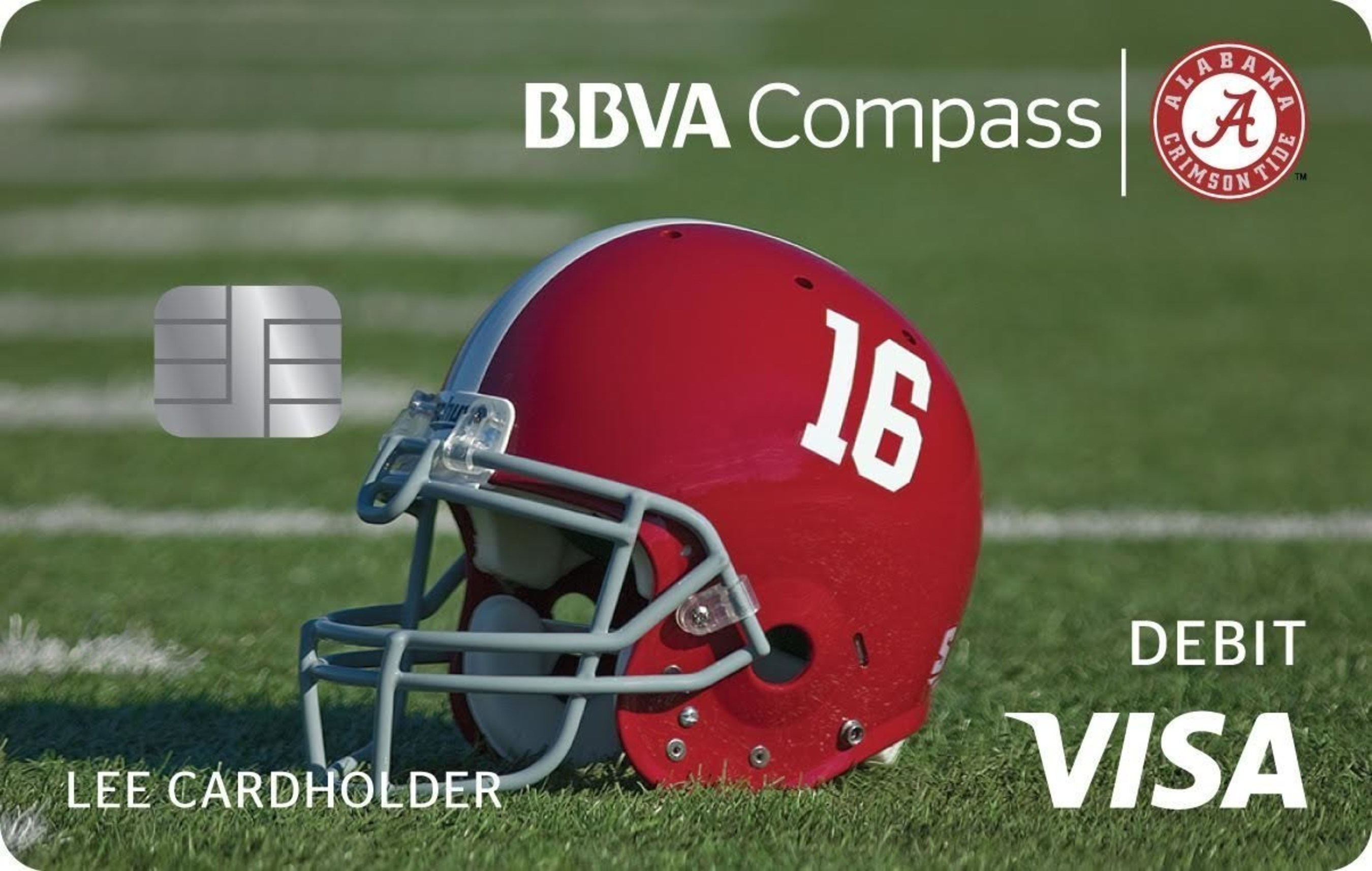 BBVA Compass will roll out its commemorative Bama-branded Visa(R) check card next month. Fans can flash their Crimson Tide pride every time they swipe their cards.