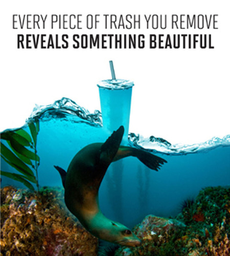 Coastal Clean-up Day graphic. (PRNewsFoto/WineCoastCountry) (PRNewsFoto/WINECOASTCOUNTRY)