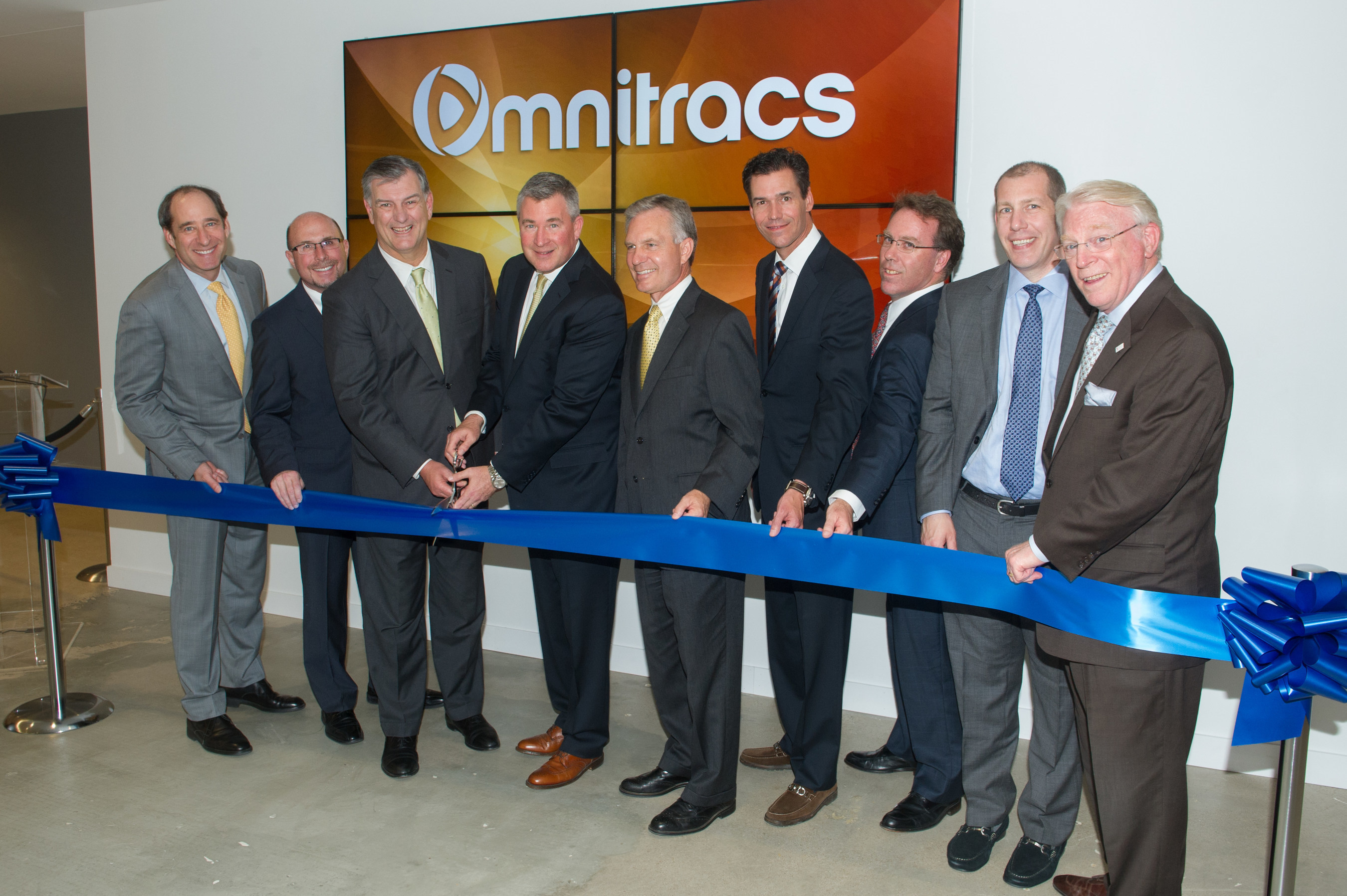Omnitracs Celebrates New Dallas Headquarters With Open House And Ribbon Cutting Ceremony