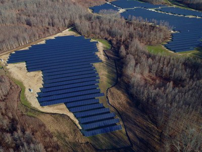 12.8 MW Utility Project - the World's Largest Bifacial PV Installation in Eastern US