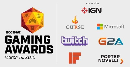 SXSW Gaming Awards - Sponsors (PRNewsFoto/G2A.com) (PRNewsFoto/G2A.com)