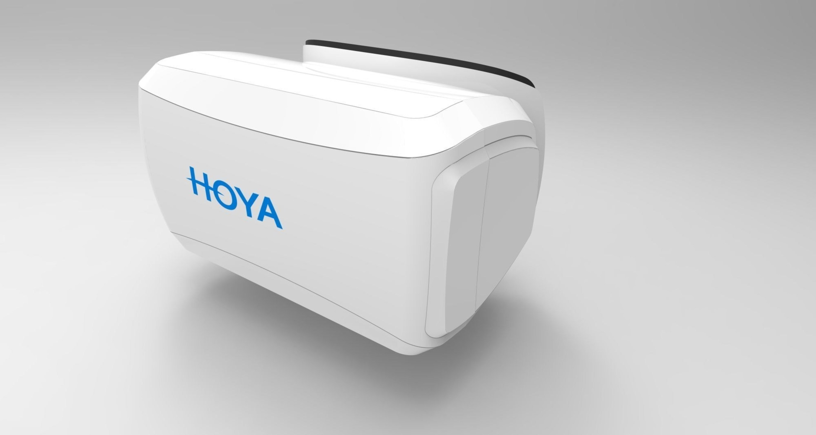 HOYA brings highly accurate 3D vision simulation to stores. *Note: Pictures do not represent the final product (PRNewsFoto/HOYA Vision Care Europe) (PRNewsFoto/HOYA Vision Care Europe)