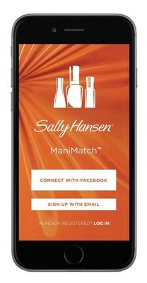 Sally Hansen Launches ManiMatch Mobile App