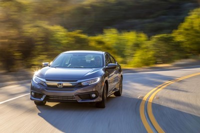 "Honda Civic and HR-V Place First and Second with CR-V Also Highly Ranked in Kelley Blue Book ""10 Most Awarded Cars of 2016"""