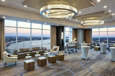 New Orleans Marriott has unveiled its recently renovated 41st floor meeting and wedding space, which boasts updated amenities and breathtaking city and river views. For information, visit www.marriott.com/MSYLA or call 1-504-581-1000.