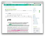 @Jivesoftware Embraces Diverse Workstyles And Extends Its Communication And Collaboration Leadership With Fall Cloud Release