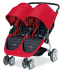BRITAX launches B-AGILE DOUBLE STROLLER with a one-hand quick-fold and easy maneuverability.  (PRNewsFoto/BRITAX)