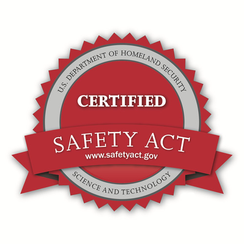 U.S. Dept of Homeland Security Safety Act Seal.  (PRNewsFoto/MCS Fire & Security)