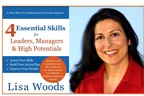 4 Essential Skills for Leaders, Managers & High Potentials, A Must Have for Individual & Team Development, Released Today by ManagingAmericans.com & Lisa Woods, CEO.  (PRNewsFoto/ManagingAmericans.com, LLC)
