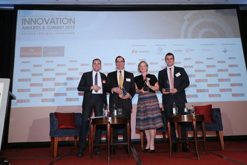 The Economist's 2015 Innovation Awards and Summit Celebrates the Most Innovative People and Ideas