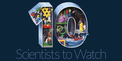 Science News announces the SN 10: Scientists to Watch, our annual list of 10 scientists on their way to more widespread acclaim.