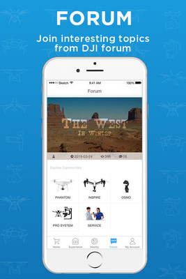 DJI Launches new Social Search and Discovery Mobile App