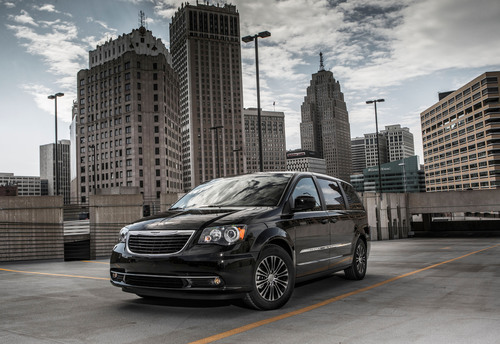 Chrysler Town & Country S Joins The 'S' Family Of Chrysler Models And Brings Cool, Modern Design To