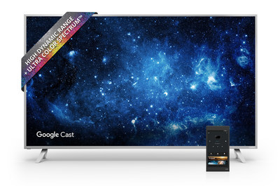"""VIZIO's Next Generation Ecosystem for Canada is highlighted by All-New VIZIO SmartCast(TM) P-Series(TM) Ultra HD HDR Home Theater Display with Included 6"""" Tablet Remote."""