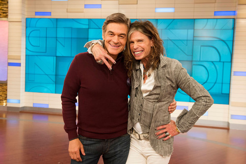 Steven Tyler is a premiere guest on the Dr. Oz Show September 10th as part of a whole new season of A list celebrities. (PRNewsFoto/The Dr. Oz Show)