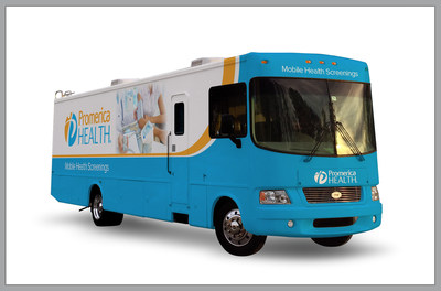 Promerica Health offers a full fleet of customizable vehicles to deploy health and wellness engagements, including 40-foot mobile health screening units.