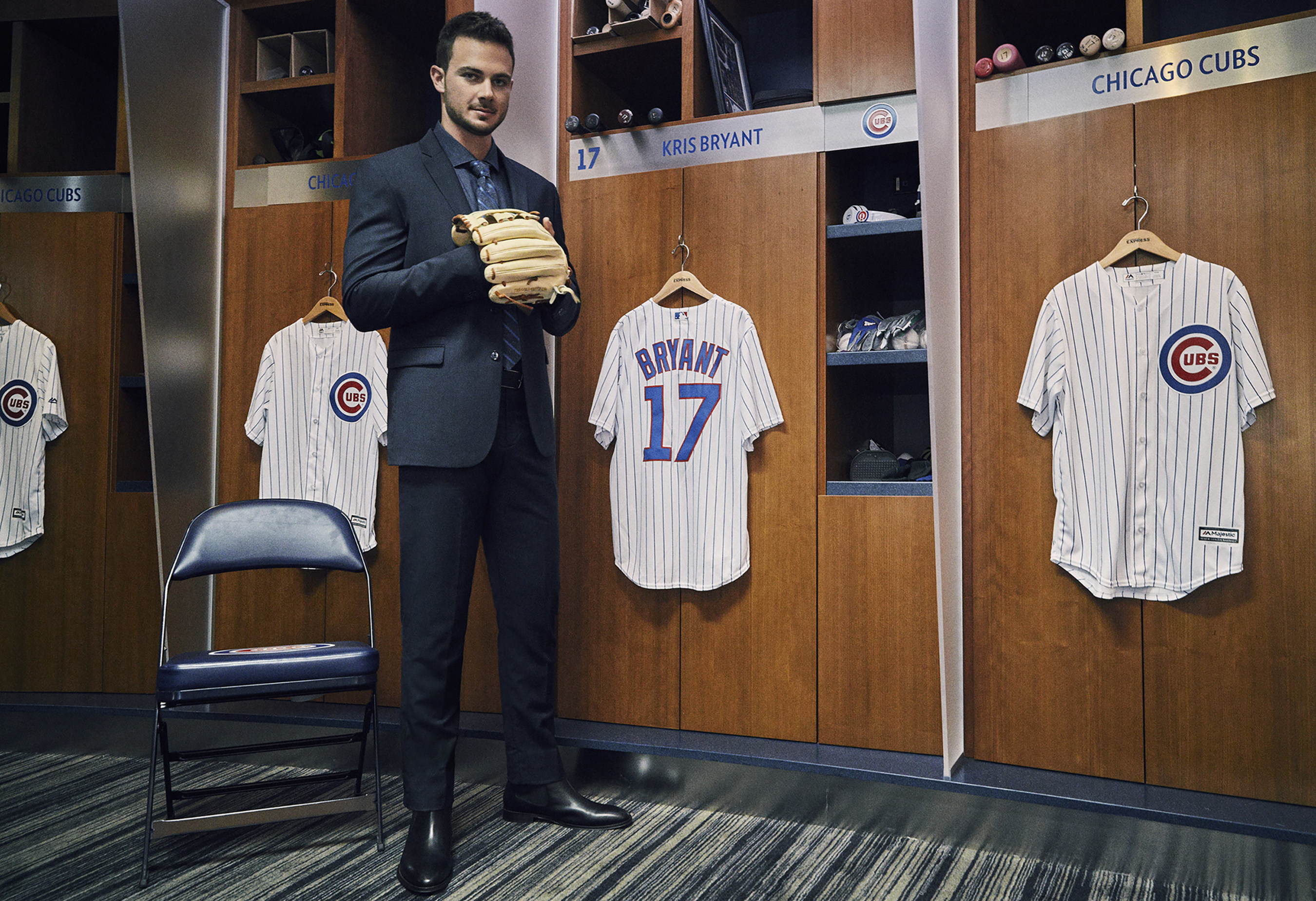 EXPRESS Men's Brand Ambassador Kris Bryant Named Major League Baseball National League Most Valuable Player 2016