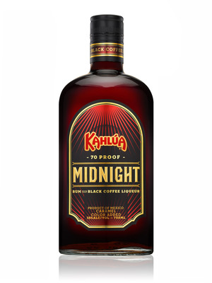 Power the Night with Kahlua's New Delicioso Mix of 70 Proof Mix of Rum and Black Coffee.  (PRNewsFoto/Pernod Ricard USA)