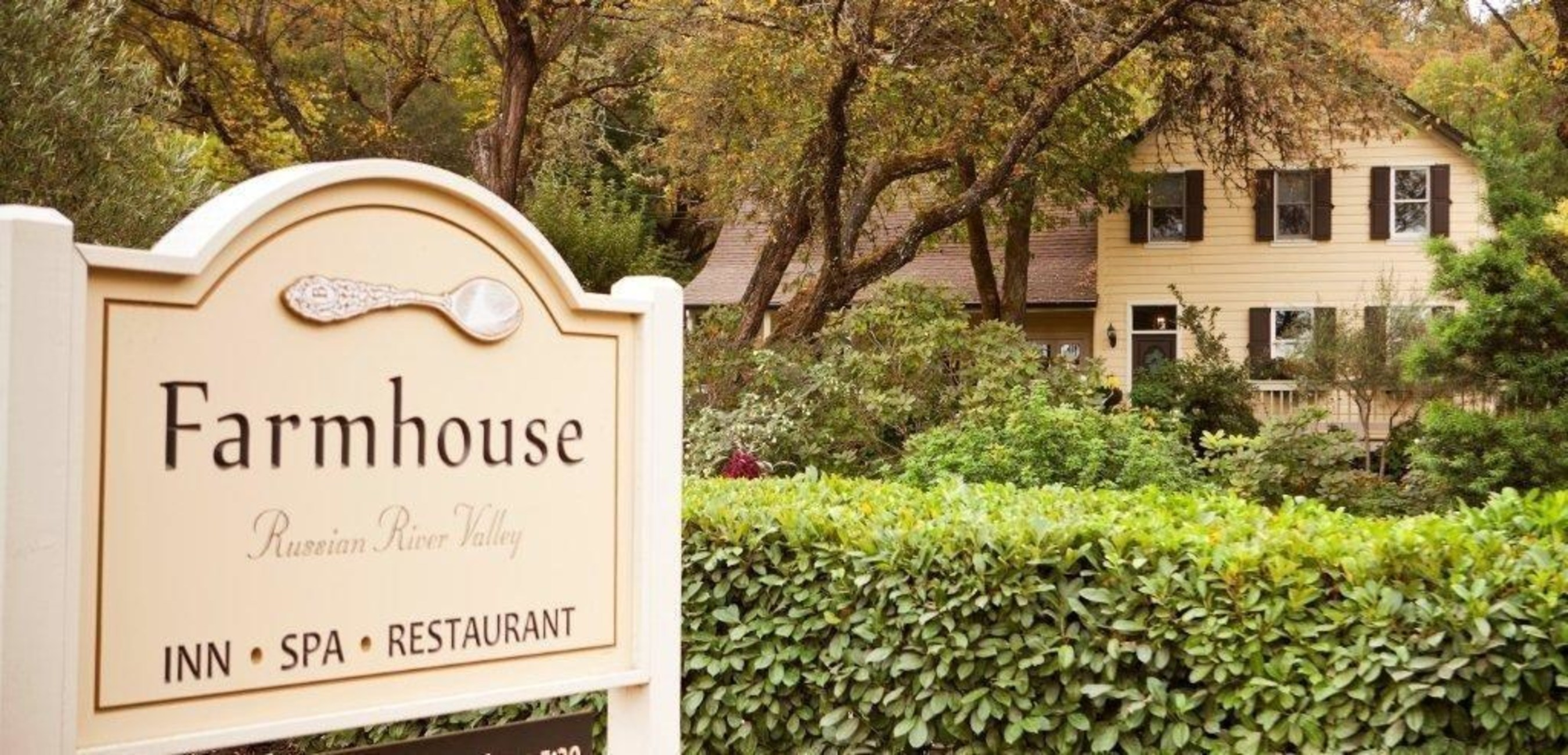 The Farmhouse Inn offers a free night to entice travelers to experience their luxurious new guest rooms, new spa, and property wide enhancements (PRNewsFoto/Farmhouse Inn)