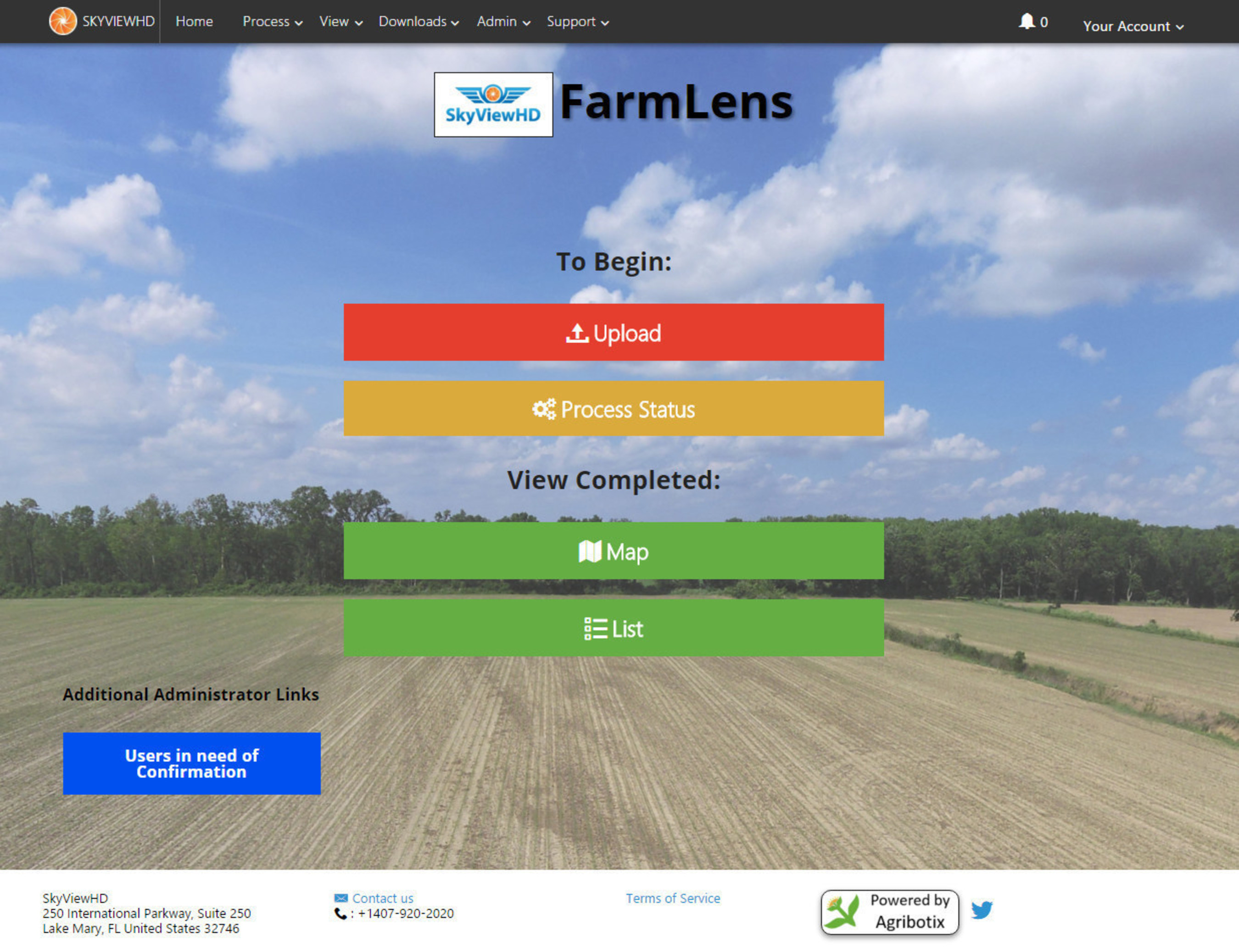 Agribotix Your FarmLens offers agricultural service providers a branded way to process and share with their ...