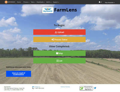 Agribotix Your FarmLens offers agricultural service providers a branded way to process and share with their customers data they collect via agricultural drones.