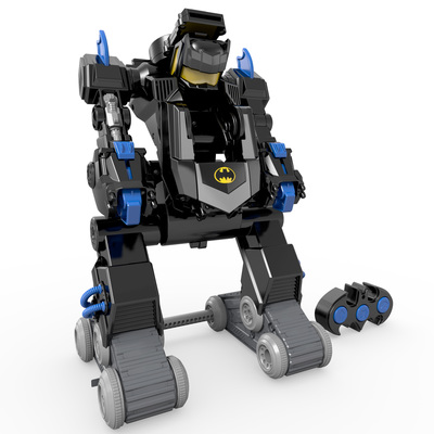 Warner Bros. Consumer Products and Mattel extend partnership granting the leading worldwide toy manufacturer rights to create product, including the Fisher-Price(R) Imaginext(R) DC Super Friends(TM) RC Transforming Bat Bot, as master toy licensee for the entire universe of DC Comics characters. (PRNewsFoto/Warner Bros. Consumer Products)